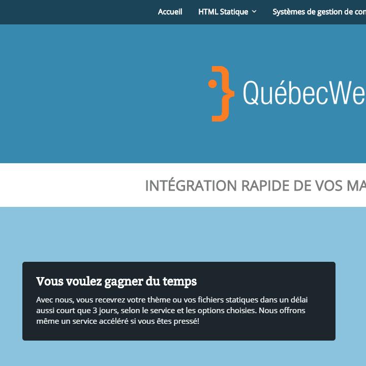Québec Web Express