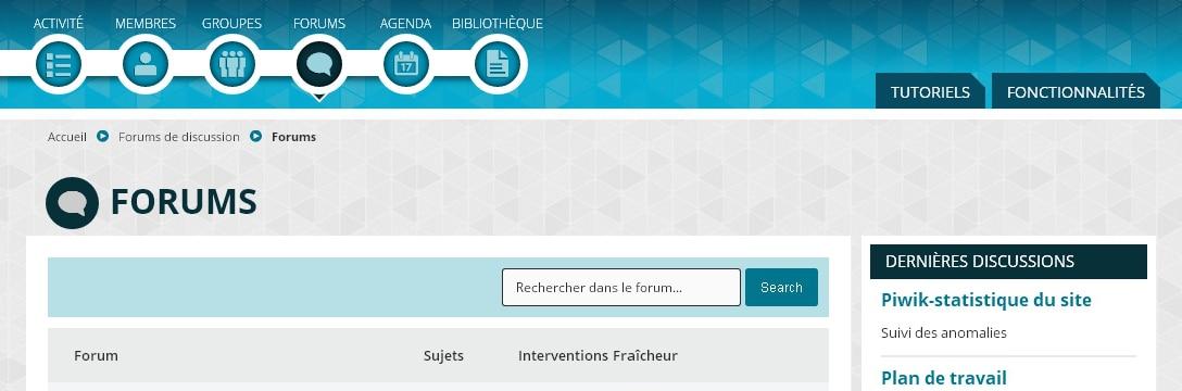 PCG - Forums