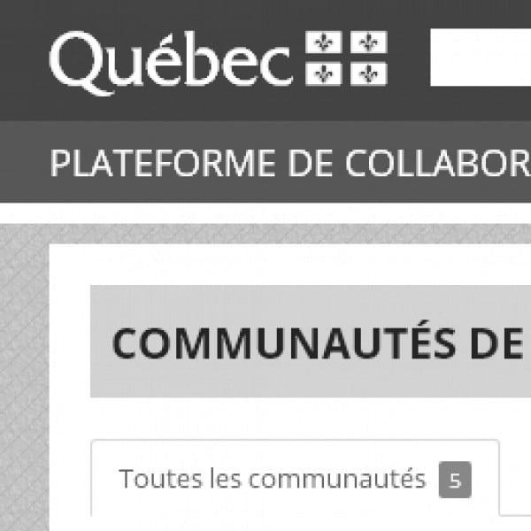 Plateforme de Collaboration Gouvernementale