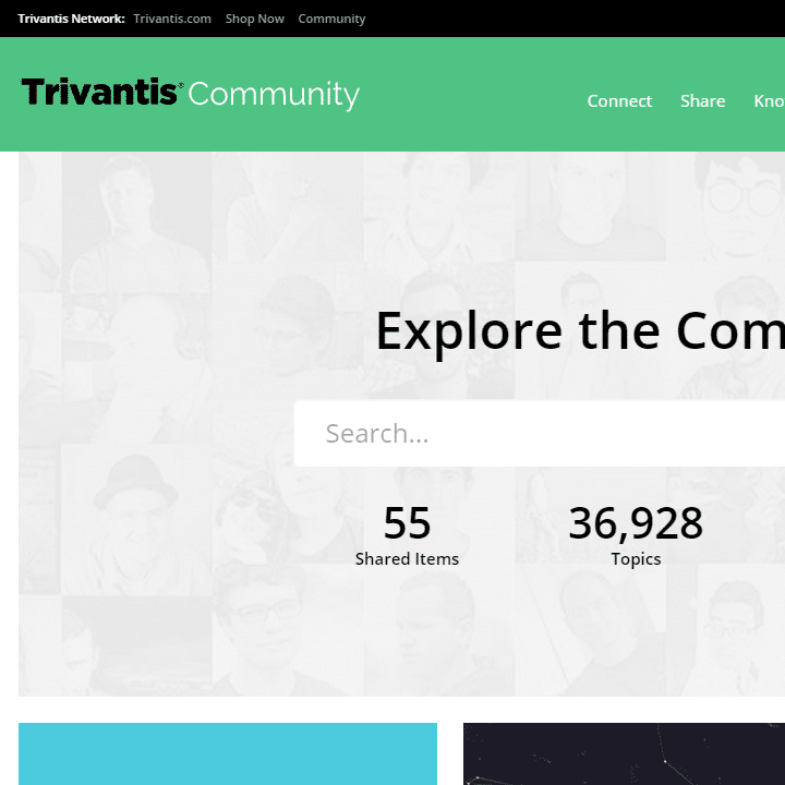 Trivantis Community