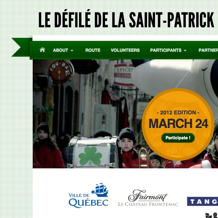 Quebec City St. Patrick's Day Parade