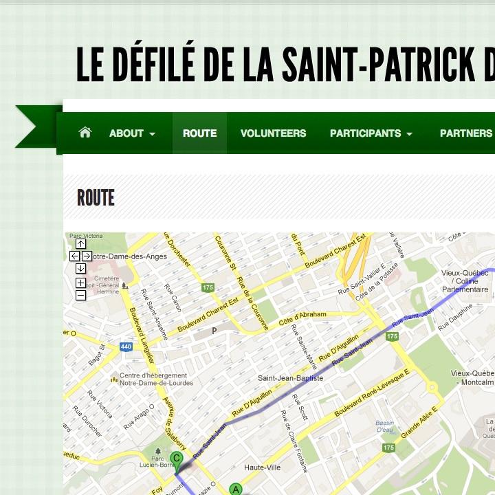 Défilé de la Saint-Patrick de Québec